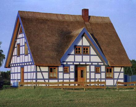 traditionelles fachwerk putz hoko fertighaus gmbh ueckerm nde mecklenburg vorpommern wir. Black Bedroom Furniture Sets. Home Design Ideas