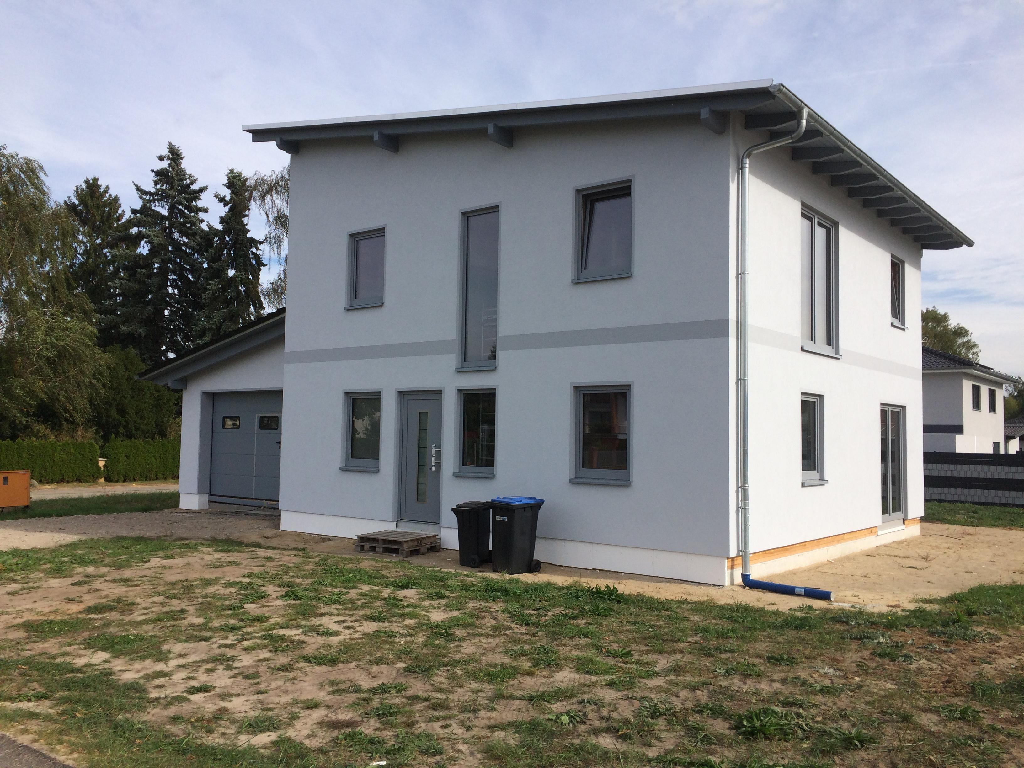 Projekt: Pultdach mit Anbau - HOKO Fertighaus GmbH Ueckermünde ...
